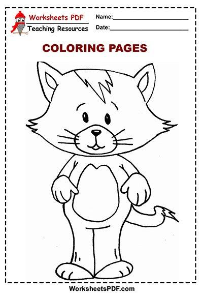cat coloring 2