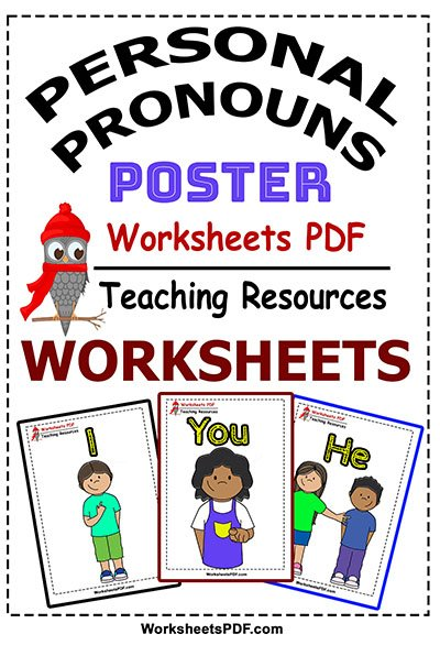 personal pronouns poster