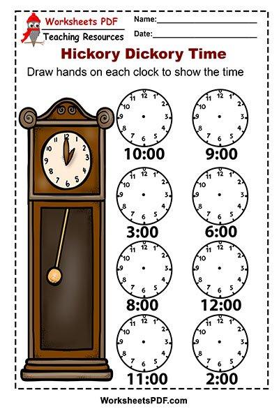 Hickory Dickory Time