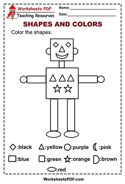 Shape Robot Color