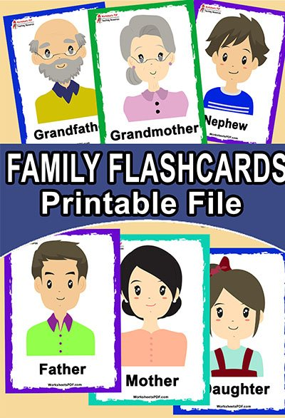 family flashcard