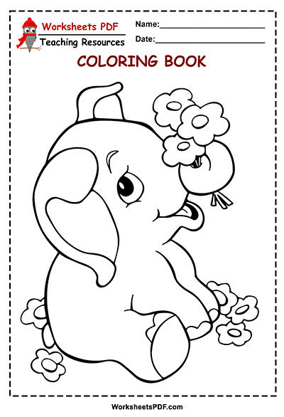 12 elephant and flower