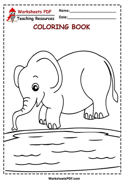 5 elephant in lake