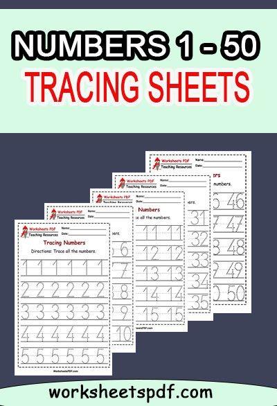 TRACING WORKSHEETS PDF FREE
