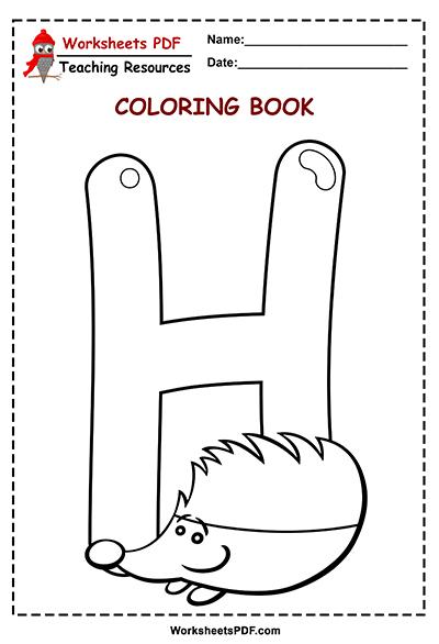 h coloring book