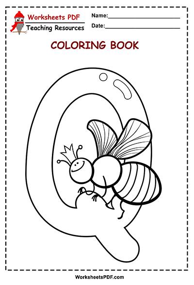 q coloring book