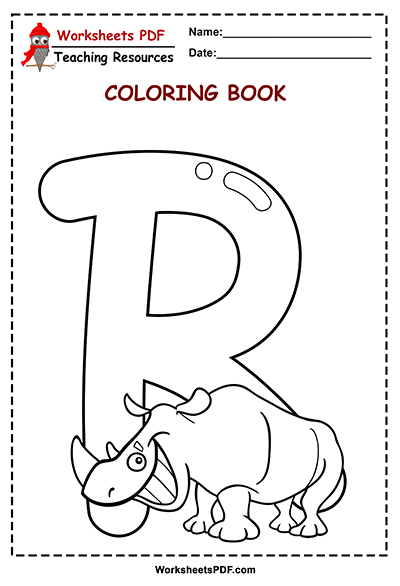 r coloring book