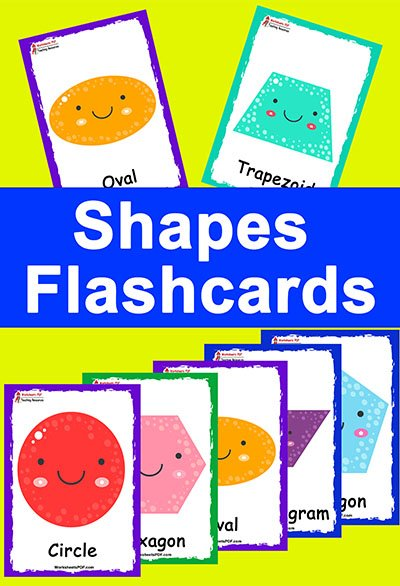 Shapes Flashcards Free Printables Worksheets Pdf