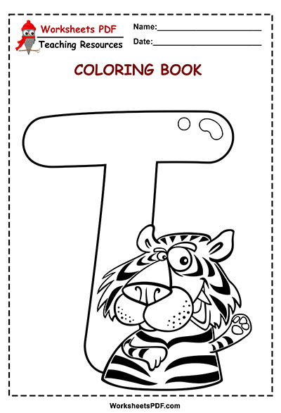 t coloring book