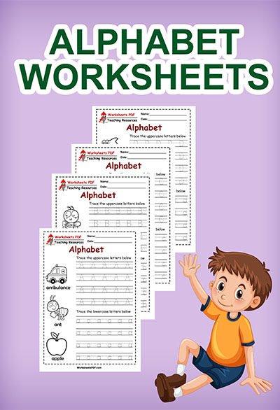 ABC Tracing Sheet Printable
