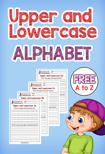 Lower and Uppercase Letters