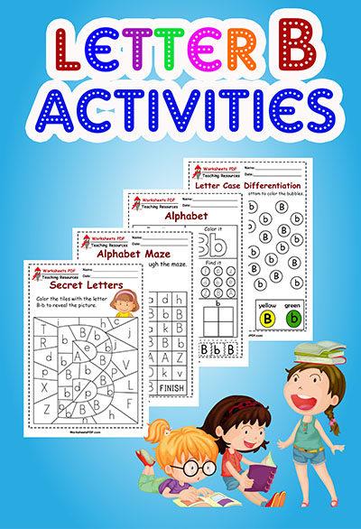 worksheets letter b
