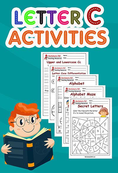 letter c worksheets for preschool