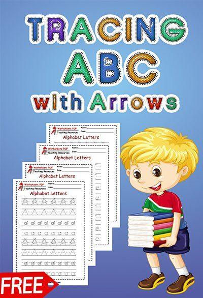 TRACING ABC with arrows