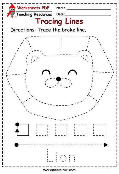 Lion Tracing