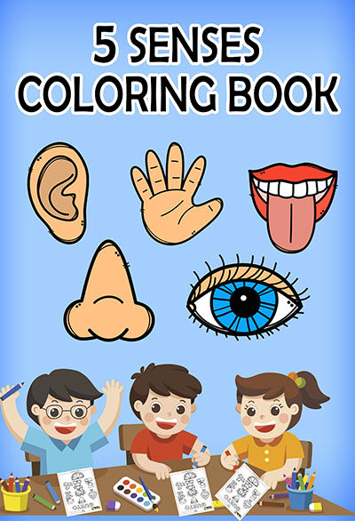 Five Senses Coloring Books