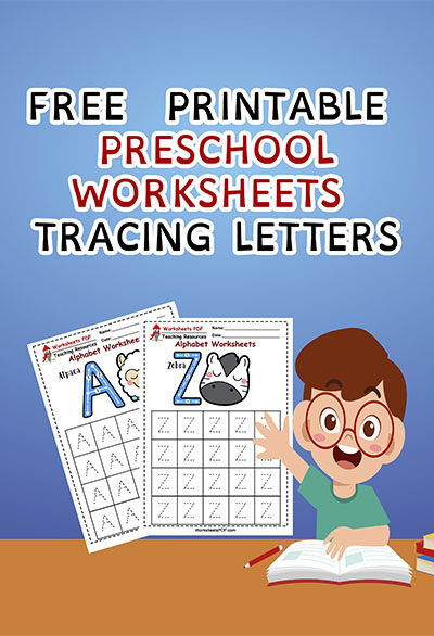 free printable preschool worksheets tracing letters