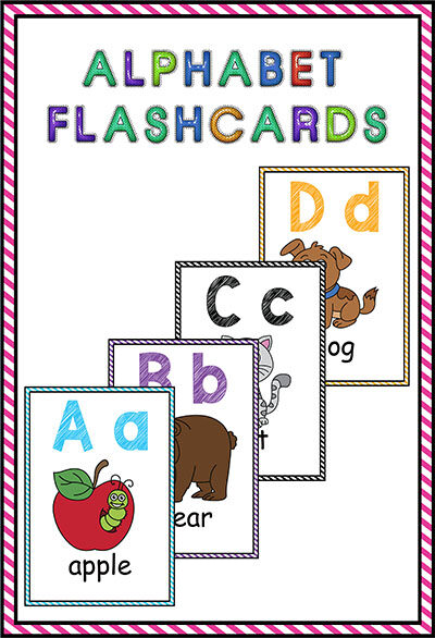 alphabet flashcards printables