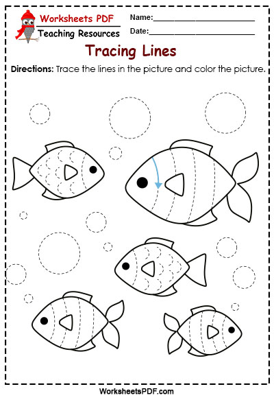 Fishes tracing