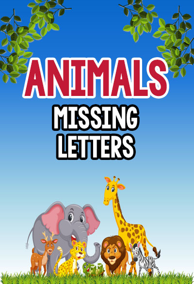 animals missing Letters