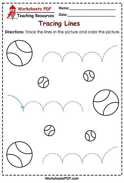 balls tracing