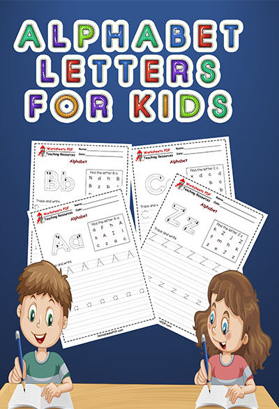 alphabet letters for kids