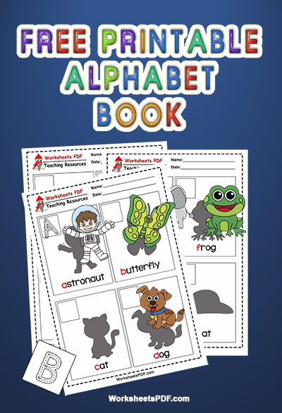 Free Printable Alphabet Book