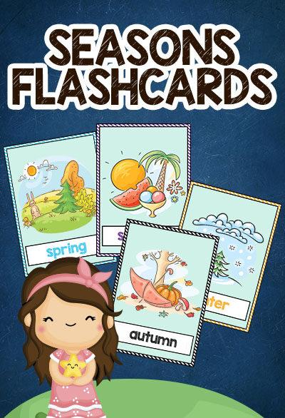 seasons flashcards