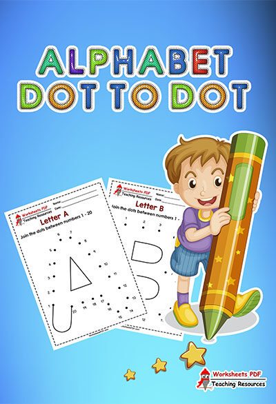 Alphabet Dot to Dot