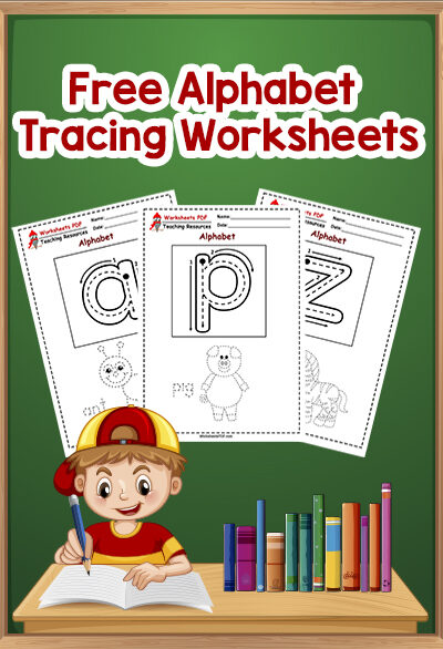 Free Alphabet Tracing Worksheets