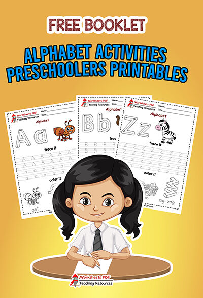 Alphabet Activities For Preschoolers Printables