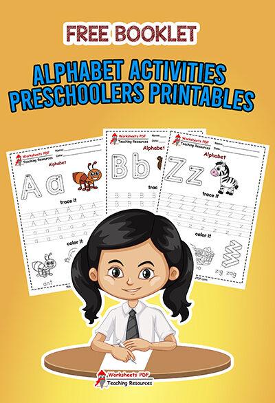 Alphabet Activities For Preschoolers Printables