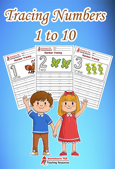 Tracing Numbers 1 to 10
